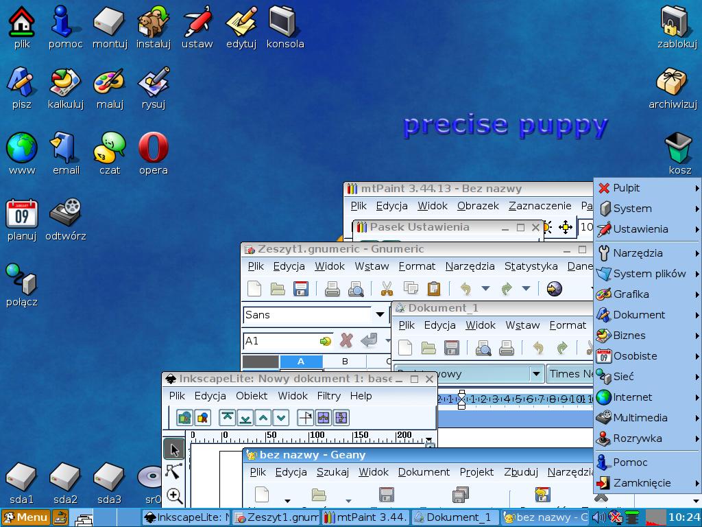Spolszczenie Puppy Linux